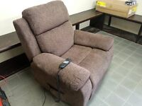 reclining and lifting electric armchair