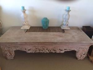 bali coffee table in sunshine coast region, qld   furniture