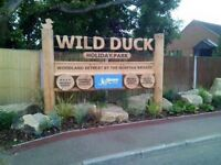 Prestige caravan hire wild duck holiday park Norfolk