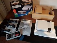 Mini NES Nintendo Console With 30 Classic Games & Controller HDMI Snes
