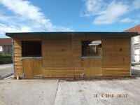 24'X12' Stable Block incl. tack room