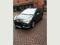 Peugeot 207 1.6 HDi /Sports/ 5dr/ 2009/ No lights on dashboard / Tax £30 per year/ DIESEL,VERY ECON