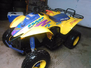Looking for a polaris 90's 400l 2 stroke engine 2x4