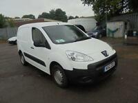 Peugeot Partner L1 850 S 1.6 Hdi 92 Van SLD DIESEL MANUAL WHITE (2012)