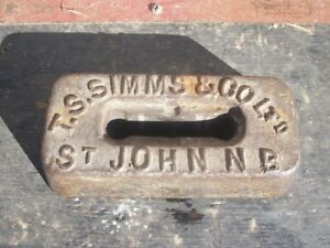 Late 1800's Cast Iron Horse weight