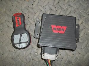Wireless WARN remote control for plow or winch