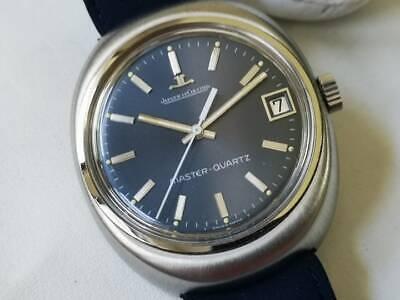 """1970's Vintage Rare Watch """"As New """" Blue Dial Jaeger LeCoultre Master Quartz"""
