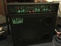Bass Amp Trace Elliot GP12 SMX 4001, Valve &/or Solid state, 12 band eq, Low&HighComp, 280WRMS