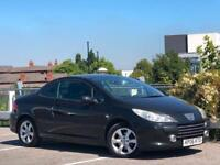 * 2006 PEUGEOT 307 CC CONVERTIBLE + ALLOYS + JUST BEEN SERVICED + FACELIFT *