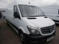 Mercedes-Benz Sprinter 3.5T High Roof Van DIESEL MANUAL WHITE (2014)