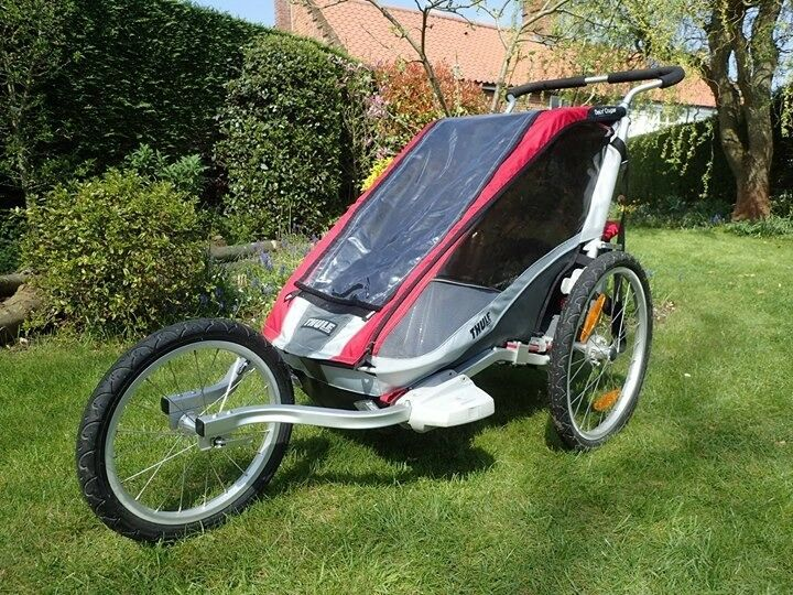 Thule chariot cougar 1 single bike trailer child carrier ...