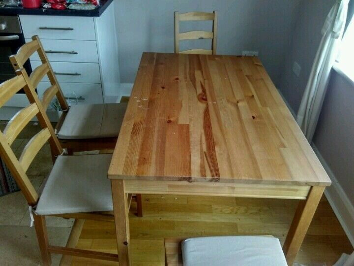 Beautiful Dining Table with Cushion and chair available(Moveout sale)