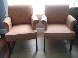 Pair of Parker Knoll Armchairs.