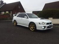 Lovely White 02 WRX Bugeye Impreza (Swap or P/X for a E60 M sport/kitted 5 Series or x5)