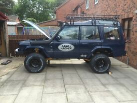 defender 90 D1 project discovery 1 & 2 td5 galvanised chassis unfinished project 300tdi job lot