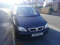 Vauxhall Zafira 7 Seater 2005 1.6 MPV