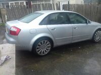 audi a4 b6 1.9 tdi se 2002 full mot and full service history 2 owners only