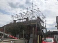 Local scaffolding company, scaffold hire, scaffold erectors, temporary roof, boarded lifts, towers