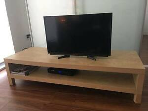 IKEA Lack TV wooden bench table in Birch