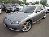 2004 Mazda RX-8 GT . 6-SPPED . LOW LOW KM . MINT . 2 SETS OF WHE