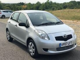 Toyota Yaris 1.0 VVT-i T2 5dr, 3 M Warranty, Service History, Reliable and Ecnomical