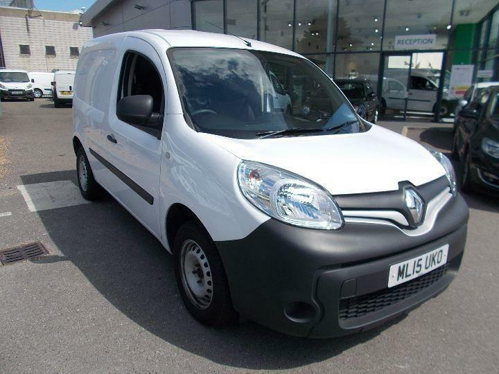 Renault Kangoo Ml19dci 75 Eco2 Van DIESEL MANUAL WHITE (2015)