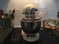 KITCHEN AID stand mixer, model 5ksm150, full working order