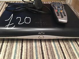 Sky+ HD box, remote and power lead