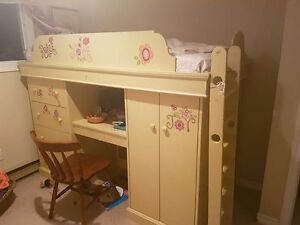 HAND MADE SOLID BUNK BED