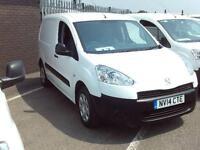 Peugeot Partner L1 850 S 1.6 HDI 90BHP VAN DIESEL MANUAL WHITE (2014)
