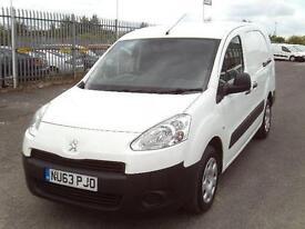 Peugeot Partner 716 S 1.6HDI 92ps Crew Van DIESEL MANUAL WHITE (2013)