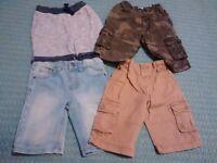 Boys shorts 3-4y