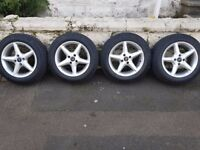 15 inches fully equipped wheels