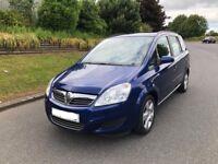 Vauxhall Zafira EXCLUSIV 1.9 Diesel 7 Seater