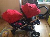 Baby Jogger City Select double/single buggy