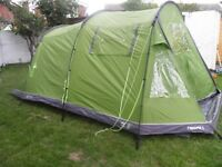Hi-gear Enigma 5 family tent - used once - very clean good condition
