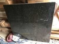 Granite kitchen worktop for island kitchen unit