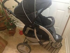 Graco three wheel jogger stroller