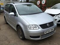 Volkswagen Touran 1.6fsi 2004 For Breaking