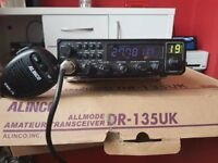 Alinco DR-135UK programmable amateur radio in very good condition
