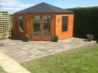 New top quality corner summer house garden room