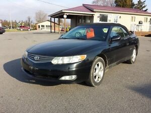 2002 Toyota Solara SLE Convertible Great Fuel Mileage! Leather!