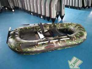 One man fly fishing Kick Boat, .9mm PVC aluminum seats, great ra