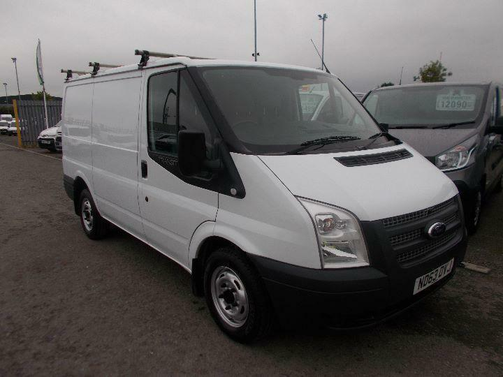 Ford Transit Low Roof Van Tdci 125Ps DIESEL MANUAL WHITE (2013)