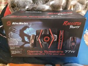 2.1 channel Gaming speakers