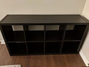Black Ikea Shelf (Kallax)
