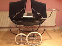 Silver Cross Twin Dolls Pram
