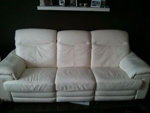 Italsofa leather recliner ( electric )