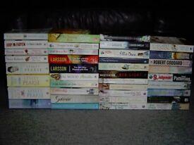 Job Lot of 38 Paperback Books - Novels - Fiction - Romance