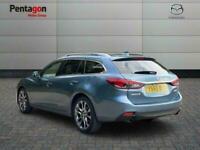 2015 Mazda Mazda6 2.0 Skyactiv G Sport Nav Tourer 5dr Petrol Manual 137 G/km 163